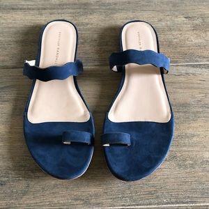 Loeffler Randall Navy Sandals